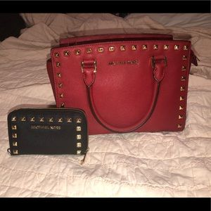 Michael Kors Selma Purse and Wallet